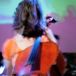 orange cello