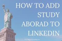 Learn how to add your study abroad experience to your LinkedIn so that you can make the most of your amazing experience and boost your professional and digital presence!