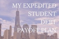 Millennials are drowning in debt. Whether it's the good debt of student loans or a mortgage or credit card debt, it's everywhere and it's not fun. Click through to learn how I'm paying off my student debt as fast as possible.