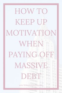Want to pay off your debt but feel continually discouraged? You're not alone. We all want to reach our big financial goals but it can be so daunting. Click through for my 5 favorite ways to stay motivated when paying back student loans.