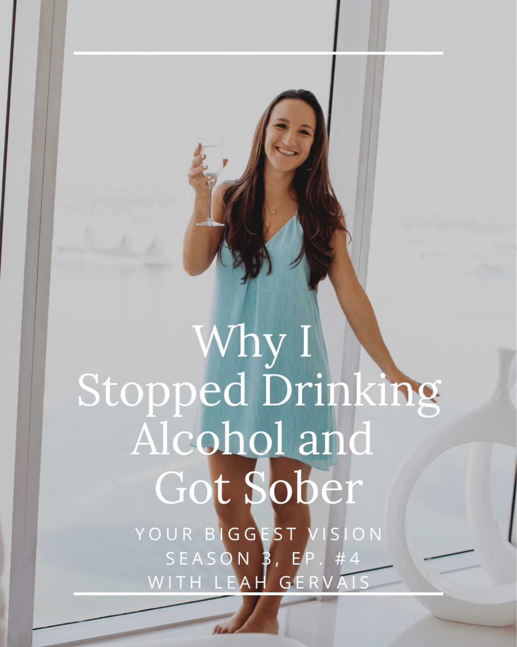 In this personal episode, I share the story behind my recent decision to stop drinking alcohol and my experience with Spontaneous Sobriety.