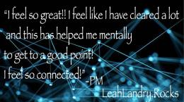 We as divine beings crave connection. Connections within and connection with others. Through the clearing of density and karma, raising ones vibration and aligning to your truth, you open yourself up to connect in ways you only dreamed possible. #powerofconnection #clienttestimonials #leahlandryrocks #spirituallyfitforlife #marconicnotouchleahlandry #marconics #marconicnotouch #marconicrecalibration #ascension #freefrom3D #chakras #clearing #mentalclarity #connection