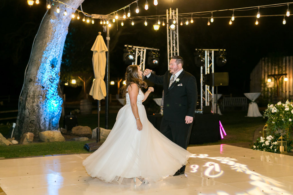 First Dance Song, Temecula Creek Inn Wedding