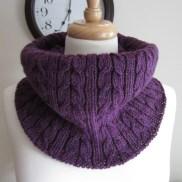 Purple Coco Cowl