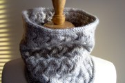Royal Cowl in Silver Fox