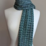 Cables & Lace Scarf