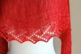 Vine Stripe Lace closeup
