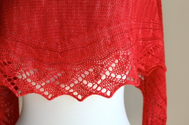 Vine Stripe Lace closeup