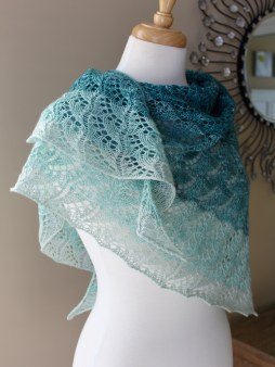 Cloudy Skies Shawl