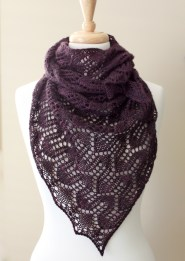 Duchess Shawl wrapped