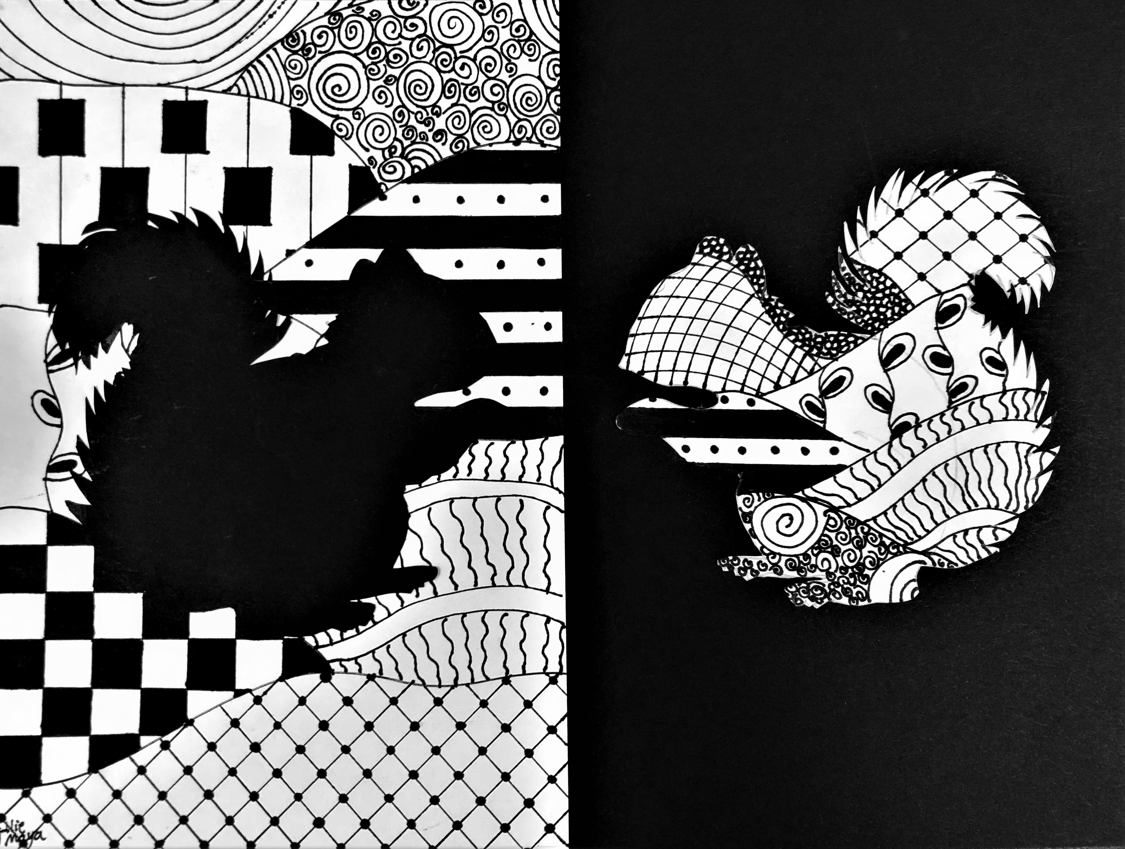 Zentangle Art Lesson For Middle School Kids