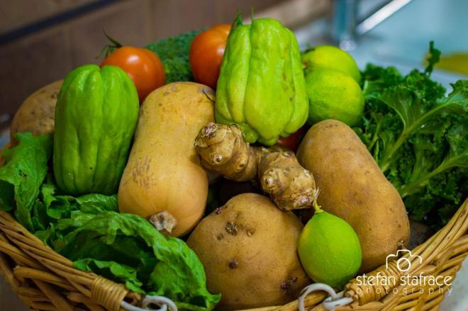 This week's vegetables from the farmers market #Malta
