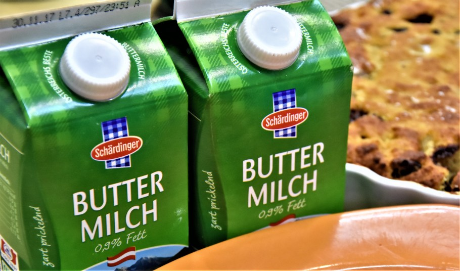 Buttermilk, great for baking and tenderizing meats