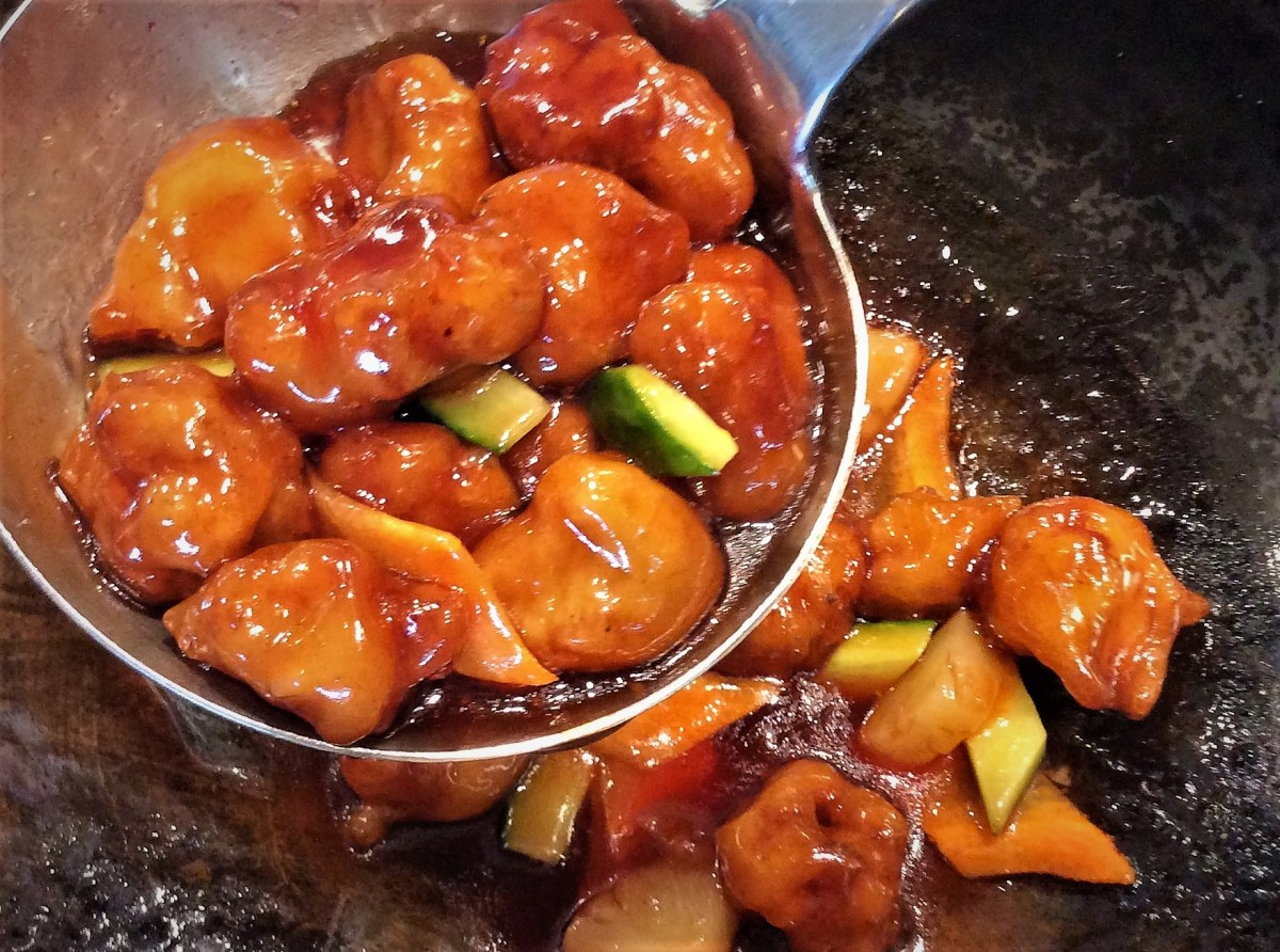 saturday night chinese sweet and sour pork 5
