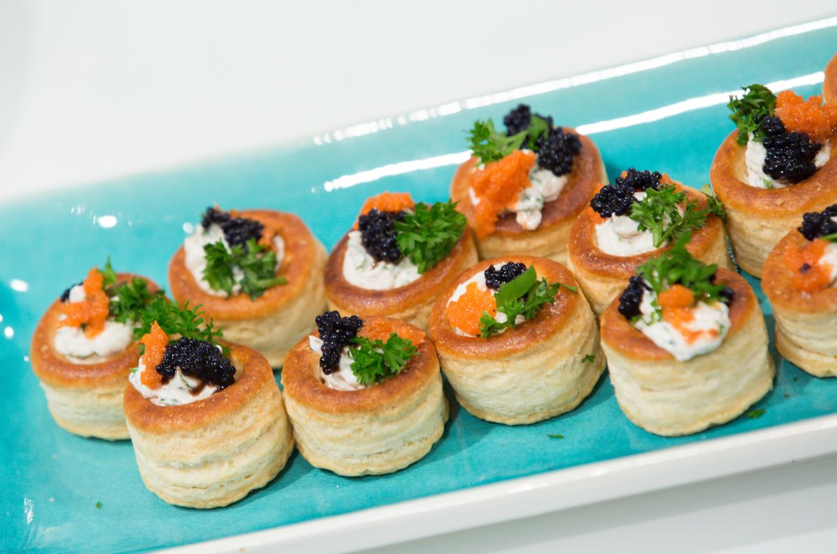 When vol au vents take centre stage