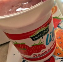 hanini light yoghurt strawberry 2