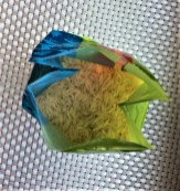 Basmati rice packet