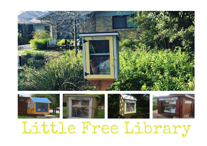 Little Free Library On the Road