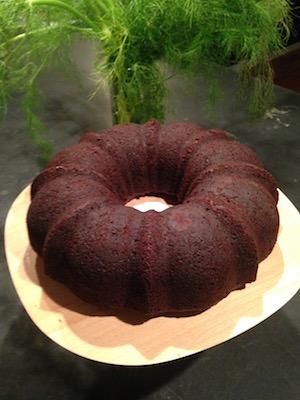 Dark Chocolate Beet Bundt Cake