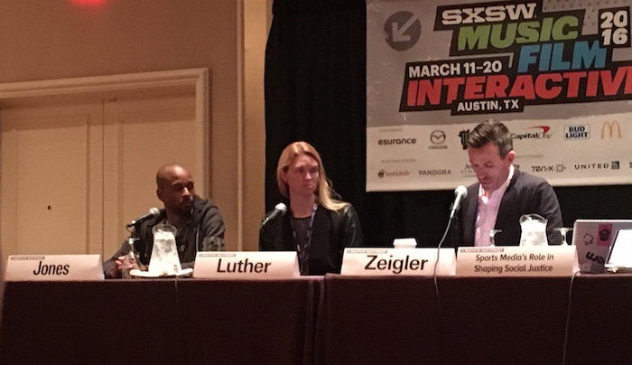 SXSW 2016 Sports Media and Social Justice