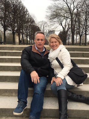 Leah and James in Paris