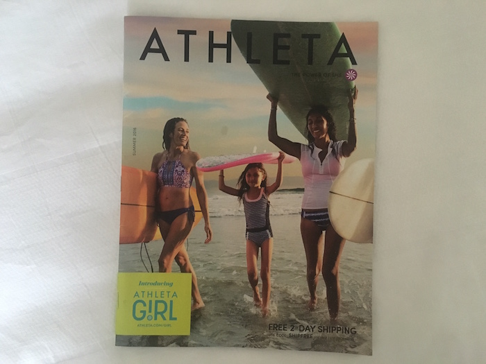 Athleta Summer Catalog Cover