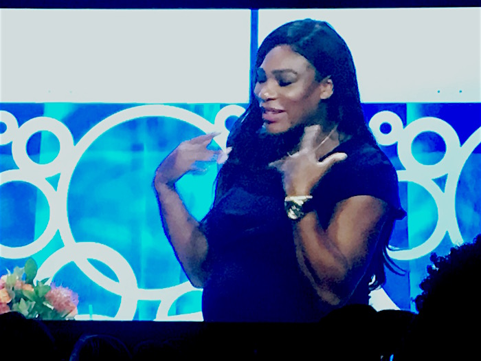 Serena Williams at BlogHer 2017