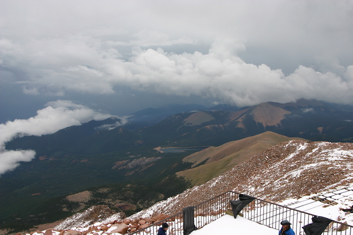 Summit view from Pikes Peak