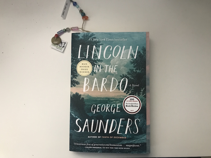 "Image of novel ""Lincoln in the Bardo"" by George Sanders"
