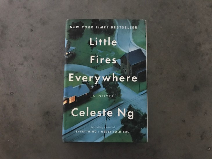Cover of book Little Fires Everywhere by Celeste Ng