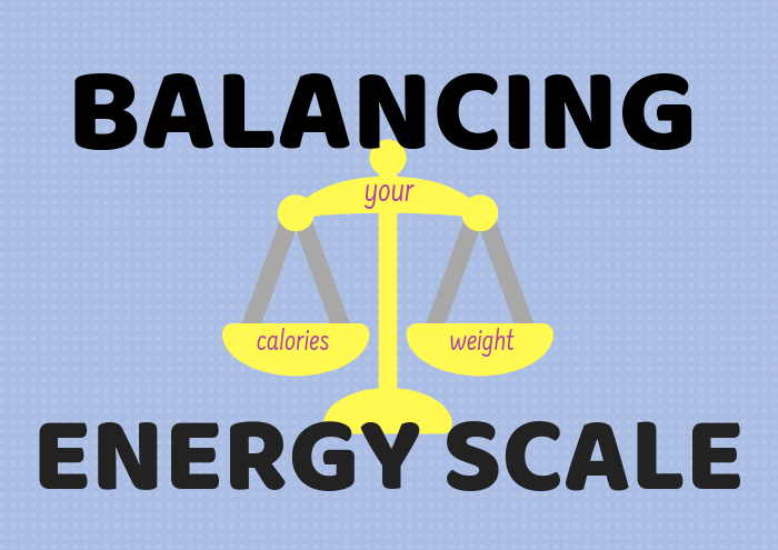 Scale calories weight balancing energy
