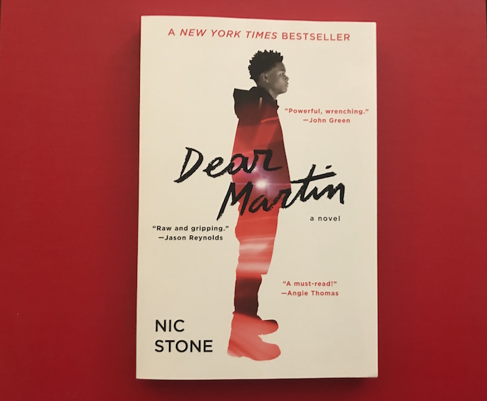 cover of young adult fiction Dear Martin by Nic Stone