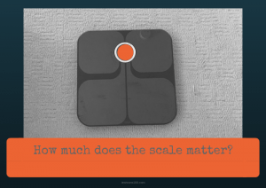 How much does the scale matter?