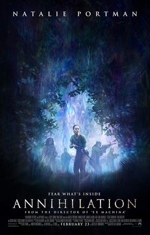 movie poster Annihilation 2018