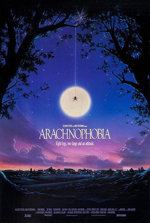 movie poster Arachnophobia 1990
