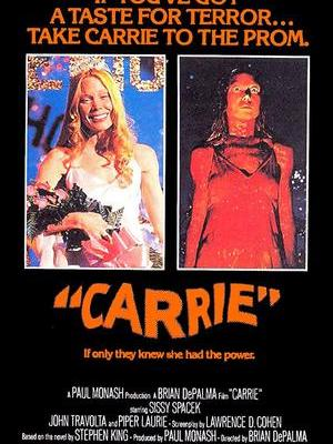 movie poster Carrie 1976