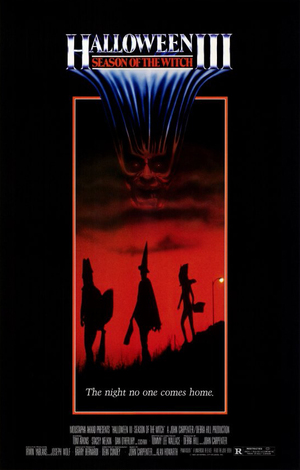 movie poster Halloween III 1982