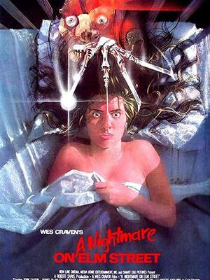 movie poster A Nightmare on Elm Street 1984