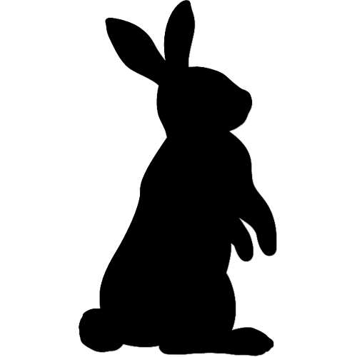 Rabbit Silhouette