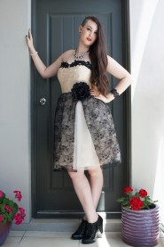 emma lace dress full body