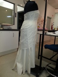 Back View with underskirt