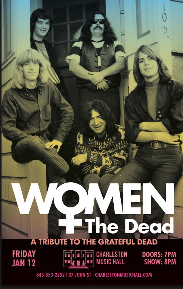 Women & The Dead @ Charleston Music Hall - Charleston, SC