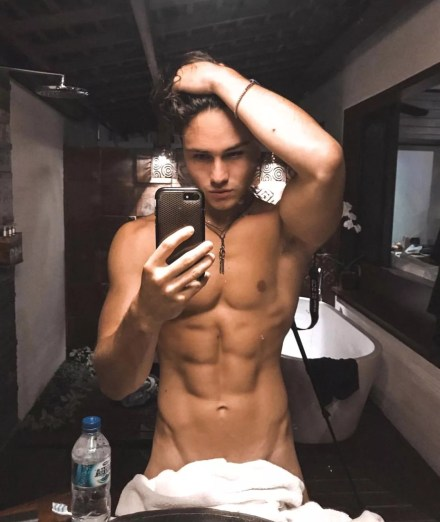 Watch Online |  Enzo Carini Nude — French Instagram Sex God Exposed!
