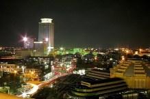 Night time in Phnom Penh