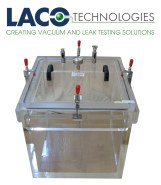 20x20 Clear Cube Vacuum Chamber - Acrylic