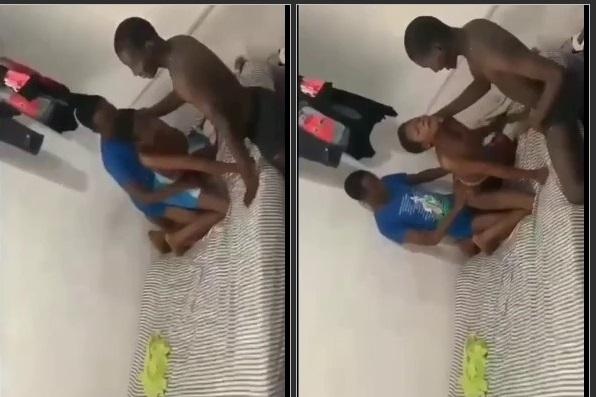 Ghana 3 SHS Boys Chopping Bad Classmate leaktube.net