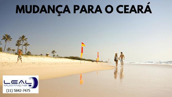 Mudança para o Ceará