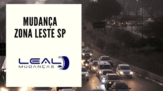 Mudança Zona Leste de São Paulo