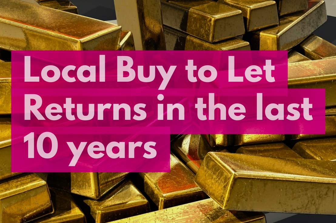 Royal Leamington Spa Buy To Let Annual  Returns Hit 13.02% in Last 10 Years