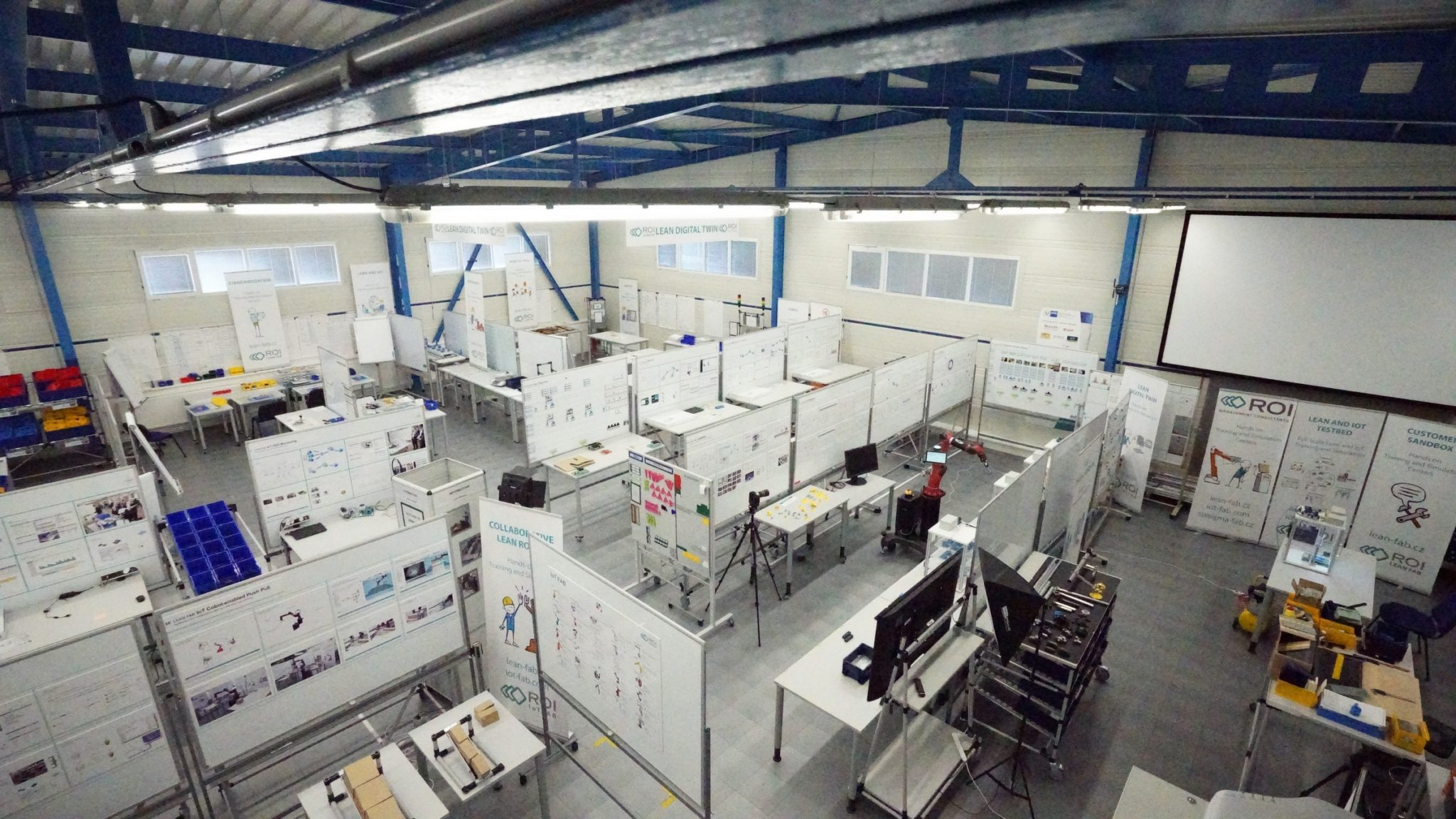 iot lean industry 4.0 training centre